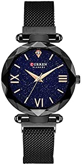 Curren 9063 Women Fashion Japan Quartz Movement Magnetic Starry Woman Watch