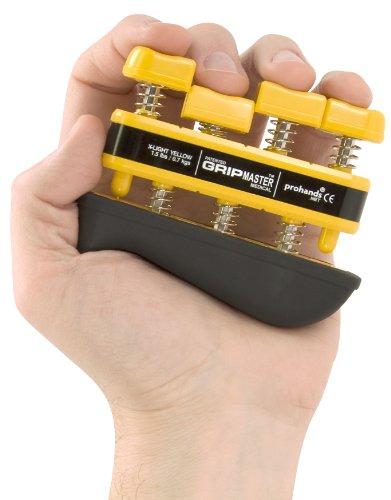 Gripmaster Hand und Fingertrainer (gelb extra leicht)