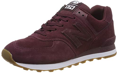 New Balance 574v2, Zapatillas para Hombre, Rojo (Red/White Red/White), 44.5 EU