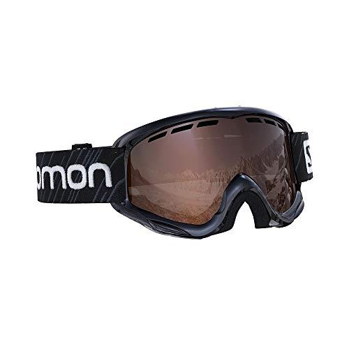 Salomon, Juke, Kinder-Skibrille (6-12 Jahre), Schwarz/Universal Silver, L40847800