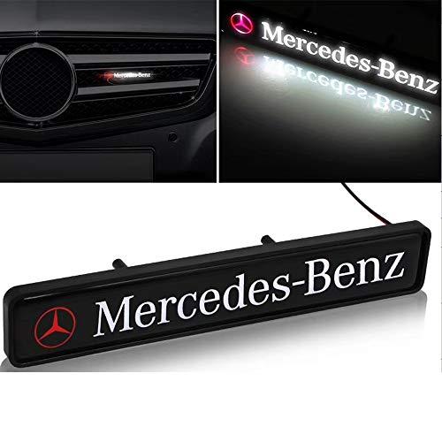 Auto-Front Grilled Stern Emblem LED beleuchtetes Logo Zentrum Front-Abzeichen-Lampen-Licht für Mercedes Benz (kann angepasst Logo Werden)