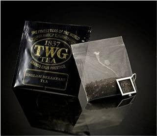 TWG Singapore - Luxury Teas - English Breakfast - BULK PACK - 100 silk teabags