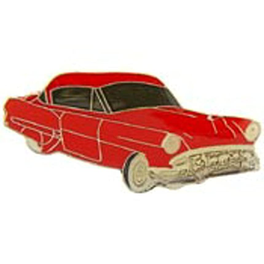 EagleEmblems P65079 Pin-Car,Chevy,'54,Red (1'')