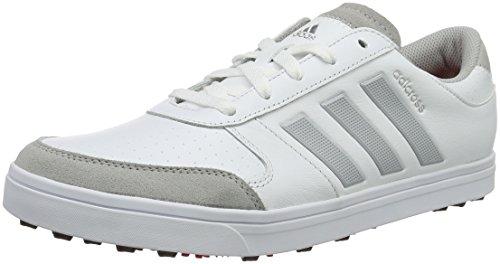adidas adidas Herren Adicross Gripmor Golfschuhe, Weiß (White/Core Black/Ray Red), 45 1/3 EU