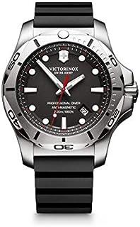 Victorinox - Hombre I.N.O.X. Professional Diver - Reloj de Caucho/Acero Inoxidable de Cuarzo analógico de fabricación Suiza 241733
