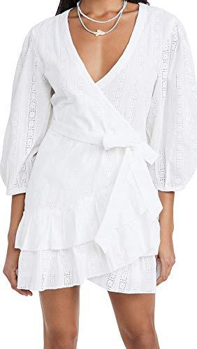 Melissa Odabash Women's Aliyah Dress, White, Small