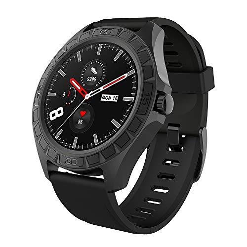 Zwbfu Reloj Inteligente de 1.3 '' Batería de 300 mAh Frecuencia cardíaca Monitoreo de la presión Arterial Sueño científico Rastreador Saludable 23 Modo Deportivo IP68 Impermeable Fitness Smartwatches