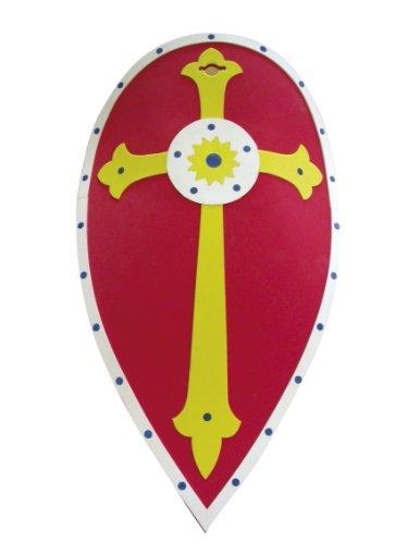 Cesar - L691-001 - Accessoire - Déguisement - Grand Bouclier de Chevalier - Eva