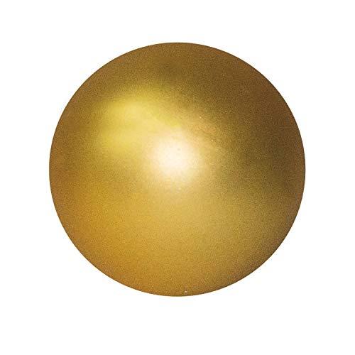 Bola de Navidad gigante de diámetro 30cms en Oro mate
