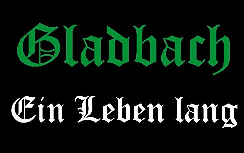 U24 Aufnäher Gladbach EIN Leben lang Aufbügler Patch 9 x 6 cm