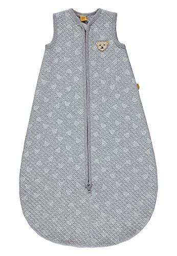 Steiff Unisex Baby Schlafsack, Grau (original|Multicolored 0004), 74 (Herstellergröße: L 90)