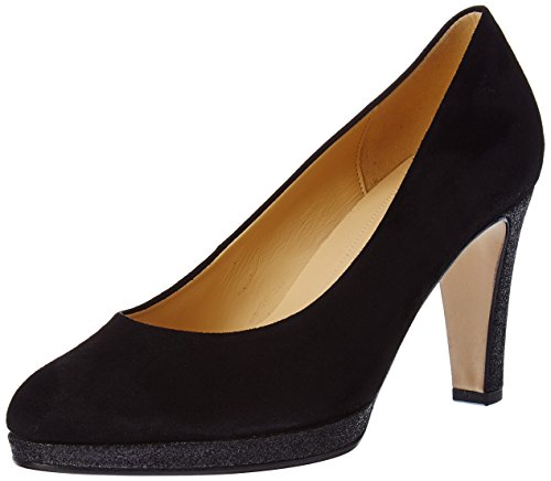 Gabor Shoes Damen Fashion Pumps, schwarz LFS Natur 37, 38 EU