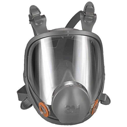 3m mascaras 3M 6800 Full Facepiece Reusable Respirator, Medium, Gray