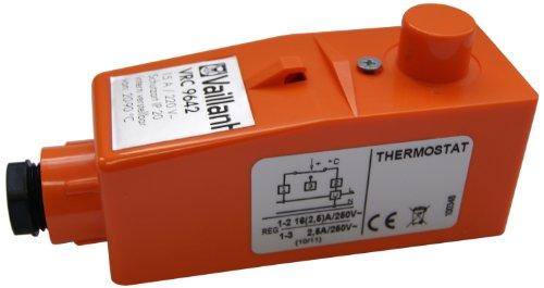 Vaillant 009642 Anlegethermostat VRC Einstellbereich von 20° bis 90° C