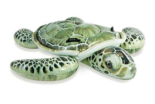 Lively Moments Badeinsel / Schwimmtier / Luftmatratze / Reittier Schildkröte