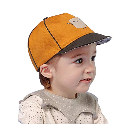 ZHANGYAN Sombrero de Sol para niños Gorra de béisbol Casual de ala Suave para niños, Gorra de béisbol de Dibujos...