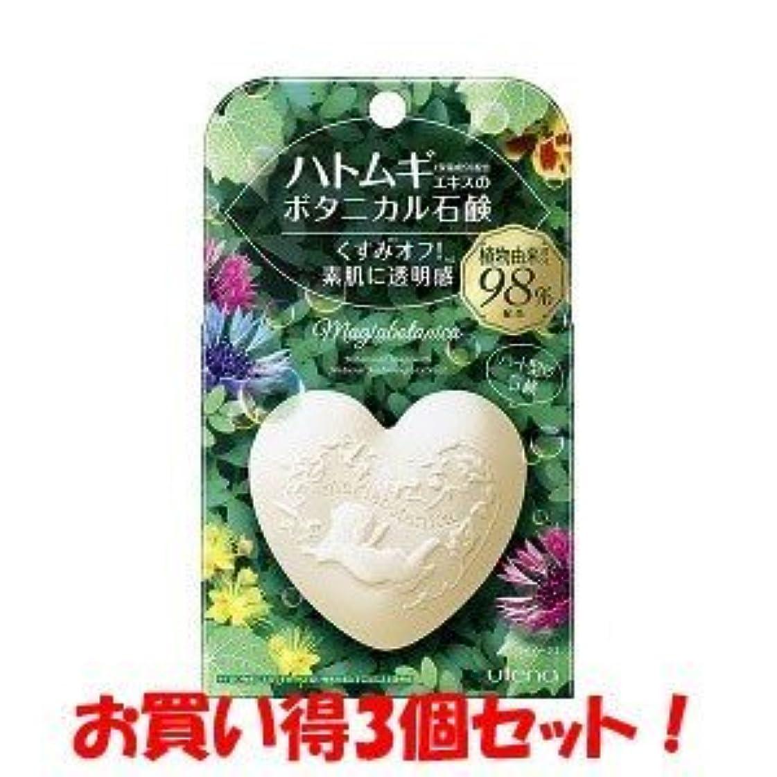 メンダシティ車両弓(ウテナ)マジアボタニカ ボタニカル石鹸 100g(お買い得3個セット)