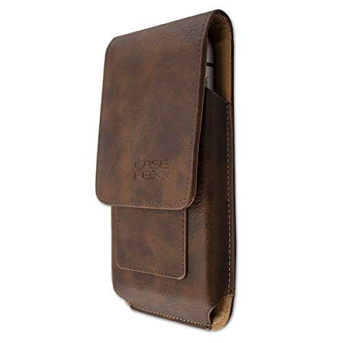 caseroxx Handy Tasche Outdoor Tasche für Blackview BV9600 / BV9600 Pro, mit drehbarem Gürtelclip in braun