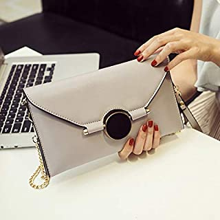 iBag's Women Envelope Clutch Bag Leather Women Crossbody Bags Women Trend Handbag Messenger Bag Female Ladies Clutches