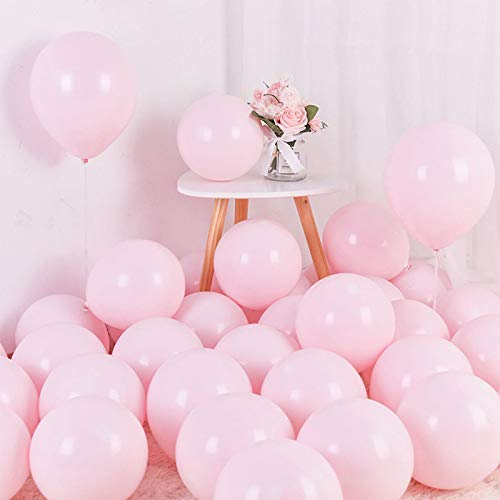 Pastel Pink Balloons 12 inch 50pcs Latex Party Balloons Baby Shower...