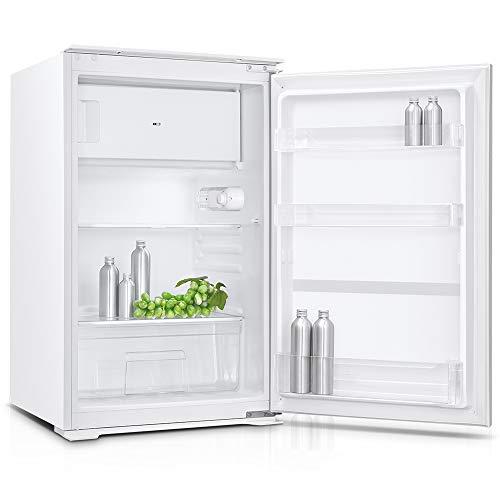 PKM Einbau Kühlschrank mit Gefrierfach KS 120.4 EBN Weiß 88 x 54 x 54 cm