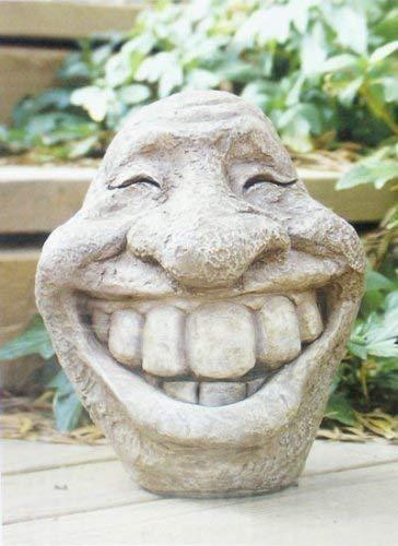 Steingesicht Smiley