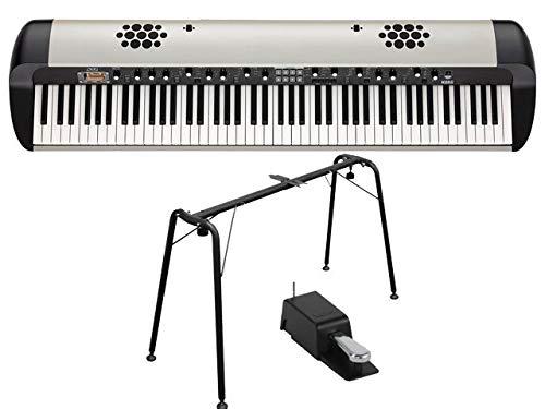 KORG コルグ - ステージ・ビンテージ・ピアノ スピーカー搭載 SV-2S 88鍵盤モデル[SV2-88S] + 純正キーボードスタンド ST-SV1-BK セット