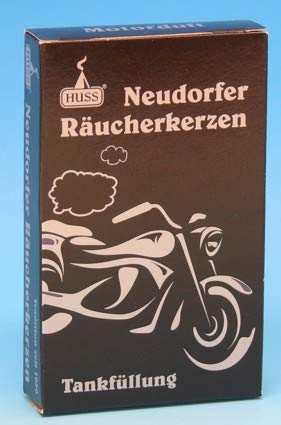 Firma Huss, Neudorf, Erzgebirge Räucherkerzen Motorradduft