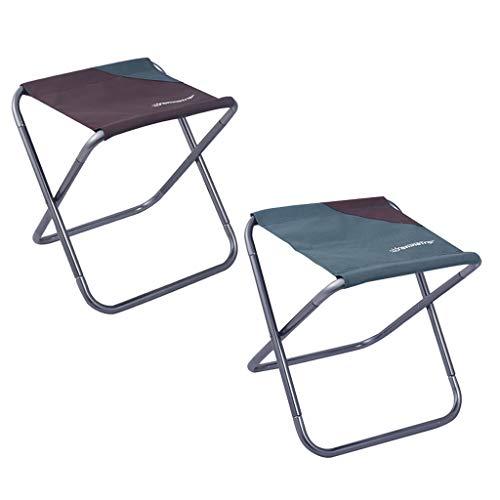 HomeDecTime 2Pcs Slacker Chair Garden Beach Seat Herramienta Ligera de Descanso Al Aire Libre