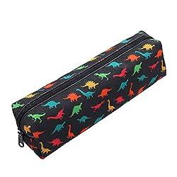 2. Aiphamy Canvas Dinosaur Pencil Case Holder