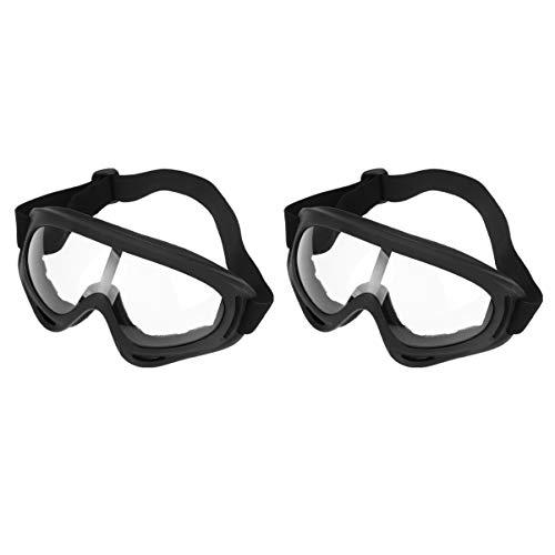 EXCEART 2 Piezas Gafas de Protección Gafas de Esquí Gafas de Paracaidismo Ciclismo Esquí Snowboard Deportes