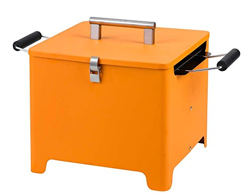 Tepro Barbecue au Charbon de Bois Cube Orange