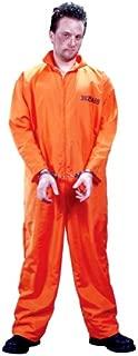 FunWorld Men's Got Busted Penitentiary Costume