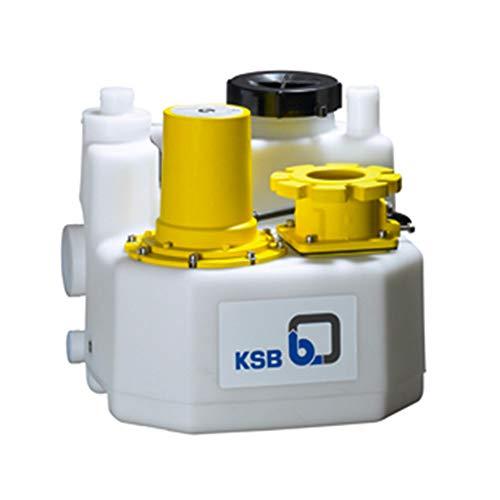 KSB Mini-Compacta US140E Hebestation, 40 l, 2,3 kW, einfache Position, mit Mahlwerk für Wasser bis 14 m³/h, einphasig, 220 V