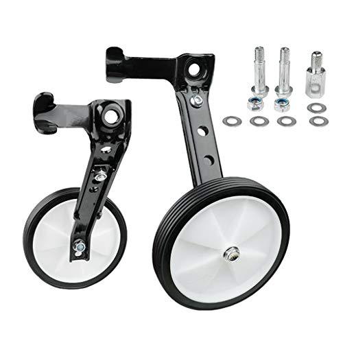Injoyo 1 Paar Stützräder Kinderfahrrad, Stützrad Kinder Fahrrad Kinderrad 16 18 20 22 24 Zoll - Silber