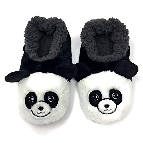 Zapatillas acogedoras para mujer, Oooh Yeah Sherpa divertidas y esponjosas, zapatillas de animales, cómodas para casa suave