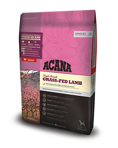 2 KG Acana singles grass-fed lamb dog hondenvoer