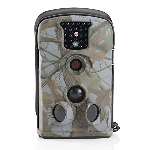 QUWN-Hunting Game Camera Hd 1080P Outdoor Wildlife Night Vision Waterdichte Hunting Trail Camera met 2.3Tft Lcd Monitor voor Wildlife Monitoring