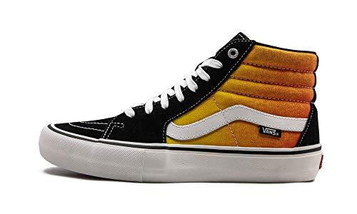 Vans Kids Classic Slip-on - Zapatillas deportivas unisex para bebé, Negro (Fade Nero Arancione), 8 Women/6.5 Men