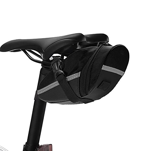 MMI-LX CXYUAN - Bolsa impermeable para bicicleta (triángulo, tubo delantero), color blanco