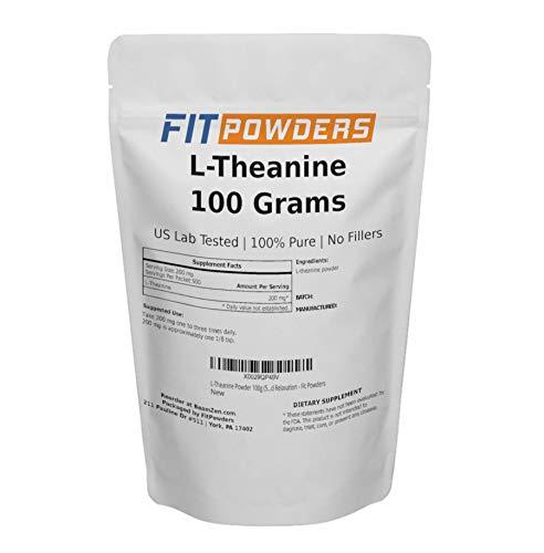 Powder City L-Theanine (100 Grams)