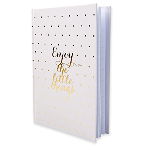 Little Roses Notizbuch A5 liniert Hardcover Gold