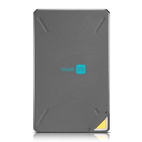 Muvit I/O MIODDUW1 - Nube personal portátil de 1 TB (WiFi, puerto USB 3.0, transferencia de datos de alta velocidad 300Mbps)