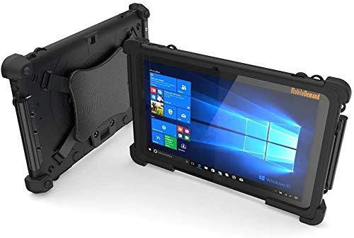 MobileDemand Flex 10A Rugged Touchscreen Tablet | Ultra Lightweight | 10.1-in Display | Windows 10 Pro | MIL-STD-810G |5800mAh Battery| Intel Atom x5-Z8350 for Enterprise Mobile Field Work