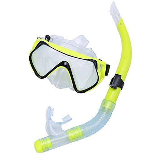SolUptanisu Snorkelmasker, volwassenen, duikbril, snorkeluitrusting voor dames en heren, zwemmen, duiken, onderwater, vrijduiken