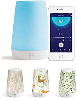 Hatch Baby Rest Sound Machine, White Noise Soother for Better Sleep, Night Light, Time-to-Rise, Kids and Toddler Alarm Clock, Nightlight with Coverlets (Into The Woods)