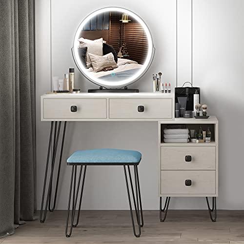 Vlsrka Vanity Set, Makeup Dressing Table...