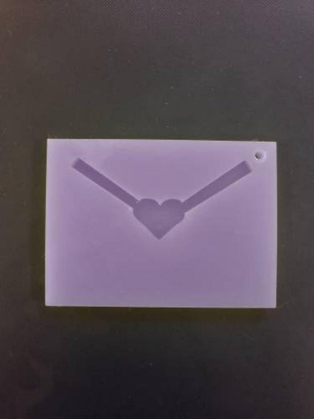 弁護和レンドGRASSE TOKYO AROMATICWAXチャーム「レター」(PU) ラベンダー アロマティックワックス グラーストウキョウ