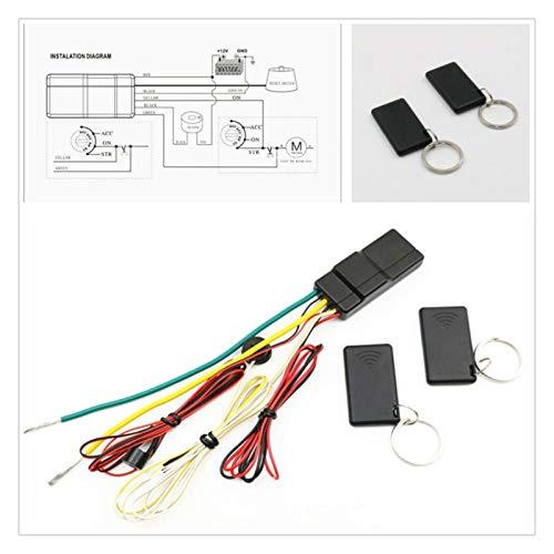 HUIXIAN XXIPO STRC Fuerte Compatibilidad De Bloqueo De Motor RFID Inmovilizador Anti-secuestro con Alarma De Corte De Circuito Inmoviliza