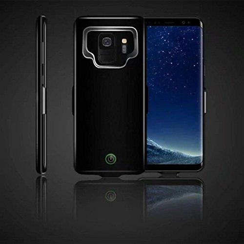 Zantec Portable Hohe Kapazität External Charging Case 7000mAh Erweiterte Batterie Schutzhülle für Samsung Galaxy S9 / S9Plus